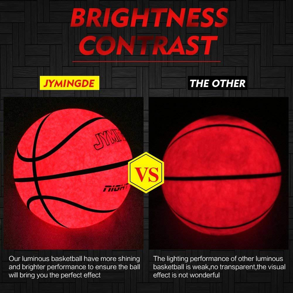 Brightness Contrast of LED Basketball