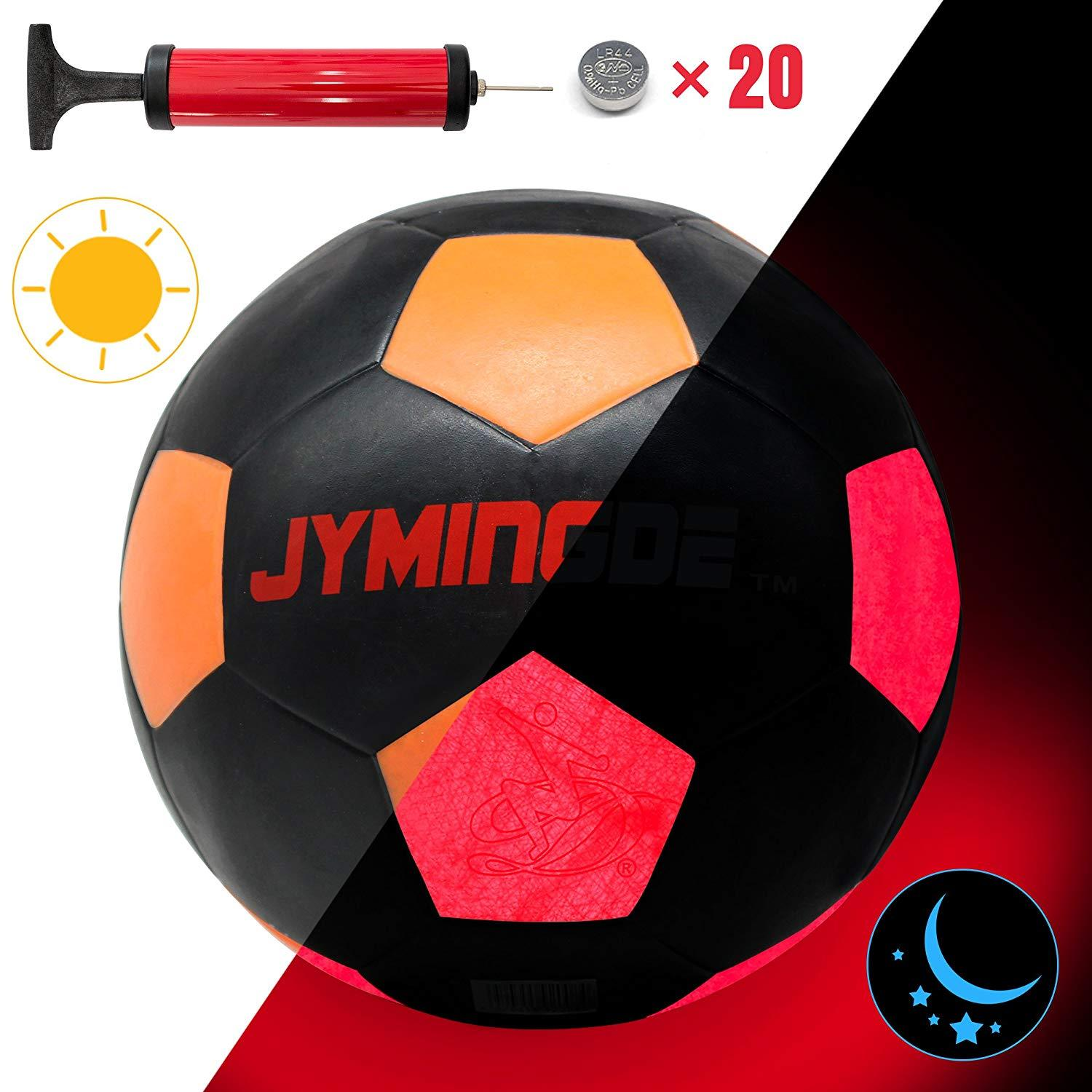 LED Football with accessories