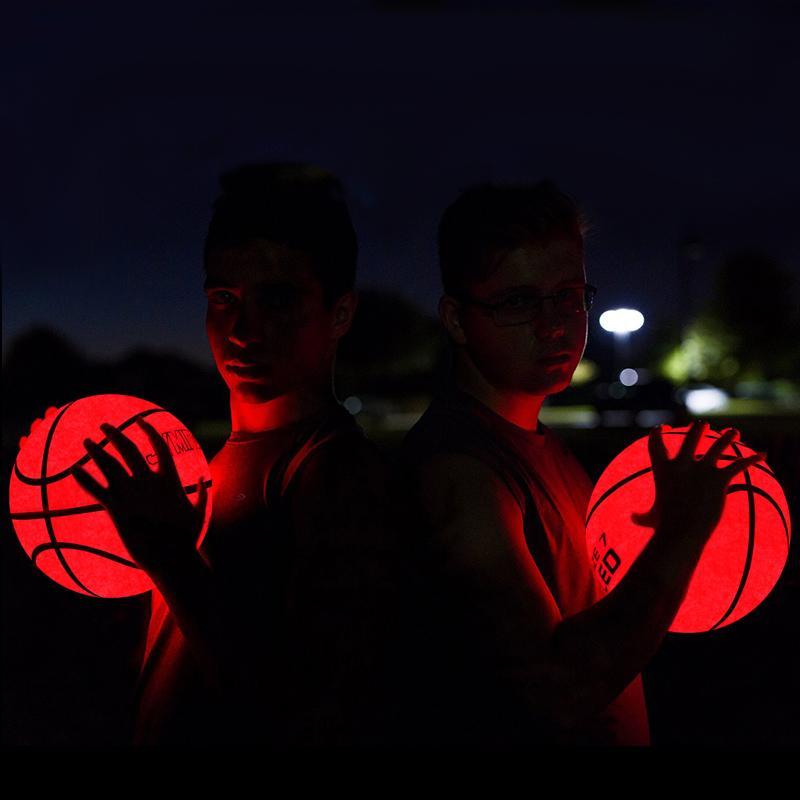 LED basketball -- Woosir