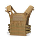 Lightweight Tactical Vest Plate Carrier Military - Khaki - Tactical Vest - Woosir