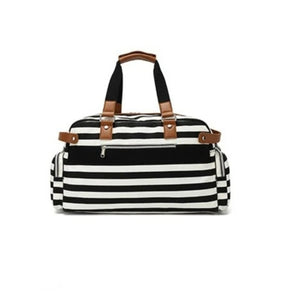 Canvas Travel Weekend Bag for Women with Trolley Sleeve -  - Duffle Bags - Woosir