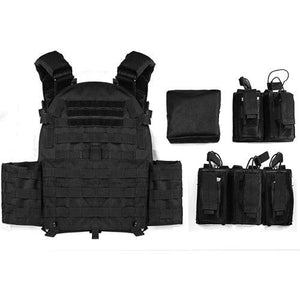 Military Outer Vest Carrier Molle -  - Tactical Vest - Woosir