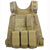 Outdoor Lightweight Combat Vest for Adults - Khaki - Tactical Vest - Woosir