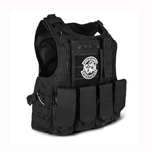 Fashionable Military Plate Carrier Vest - Black - Tactical Vest - Woosir