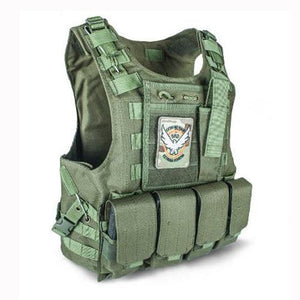 Fashionable Military Plate Carrier Vest - Green - Tactical Vest - Woosir