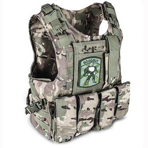 Fashionable Military Plate Carrier Vest - Camo A - Tactical Vest - Woosir