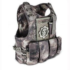 Fashionable Military Plate Carrier Vest - Camo B - Tactical Vest - Woosir