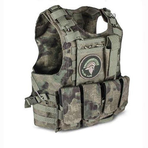 Fashionable Military Plate Carrier Vest - Camo C - Tactical Vest - Woosir