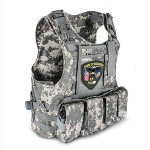 Fashionable Military Plate Carrier Vest - Camo E - Tactical Vest - Woosir