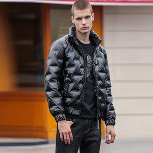 Woosir Coats Mens Winter Jackets Down -  - Down Jacket - Woosir