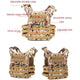 Lightweight Tactical Vest Plate Carrier Military -  - Tactical Vest - Woosir