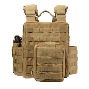 Tactical Vest For Men Military Plate Carrier -  - Tactical Vest - Woosir