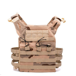 Lightweight Tactical Vest Plate Carrier Military - Camo A - Tactical Vest - Woosir