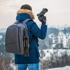 Camera Backpack for Travel with Charging Port -  - Camera Bags & Cases - Woosir
