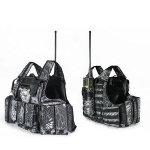 Tactical Vest Molle Combat Plate Carrier - Python pattern B - Tactical Vest - Woosir