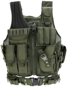 Breathable Fashionable Military Tactical Vest - Army Green - Tactical Vest - Woosir