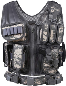 Breathable Fashionable Military Tactical Vest - ACU Digital - Tactical Vest - Woosir