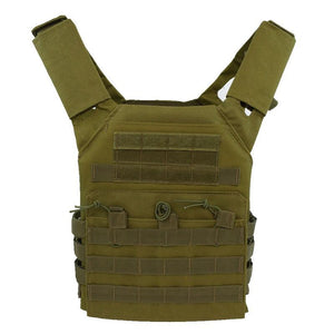 Lightweight Tactical Vest Plate Carrier Military - Green - Tactical Vest - Woosir