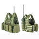 Tactical Vest Molle Combat Plate Carrier - Green - Tactical Vest - Woosir
