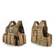 Tactical Vest Molle Combat Plate Carrier - Khaki - Tactical Vest - Woosir