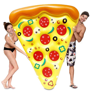 Pizza Inflatable Pool Float Raft - Pizza - Floating Bed - Woosir