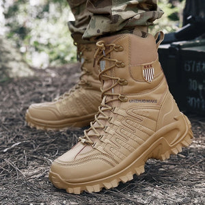 Outdoor Boots Military Men's Hiking Footwear -  - Hiking Shoes - Woosir
