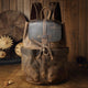 Canvas Laptop Messenger Bag Mens Satchel - Gray - Briefcases - Woosir