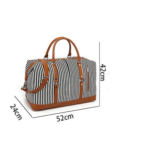 Weekend Duffle Bag Canvas Travel Bag -  - Duffle Bags - Woosir