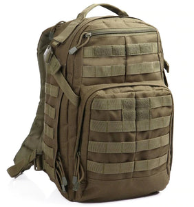 Tactical Military Assault Molle Backpack 40L - Army Green - Tactical Bags - Woosir