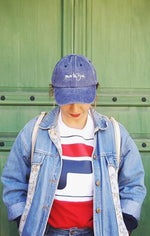 Dad Cap Stone Washed Blue