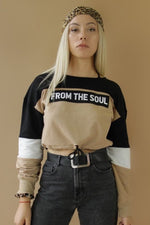 From The Soul Cropped Long Sleeve