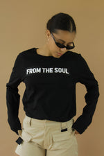 From The Soul Long Sleeve Black