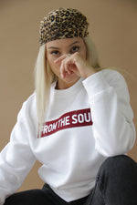 From The Soul Sweatshirt White