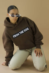 From The Soul Hoodie Brown
