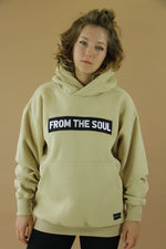 From The Soul Hoodie Sand