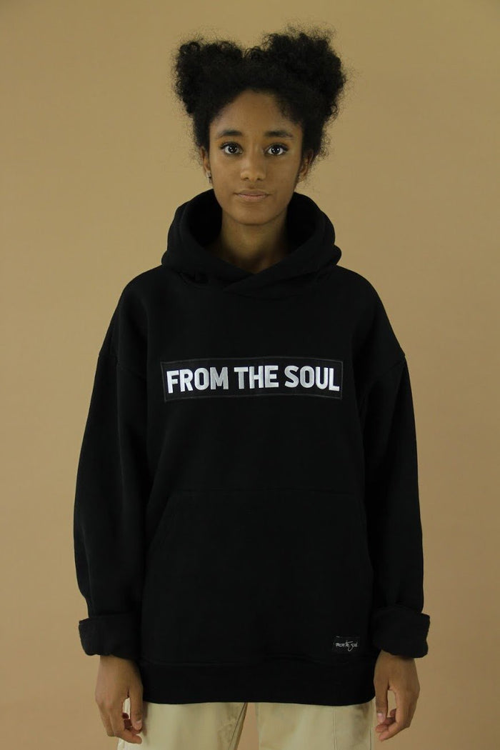 From The Soul Hoodie Black