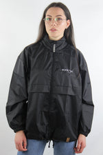 Classic Windbreaker Jacket Black