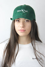 Dad Cap Green