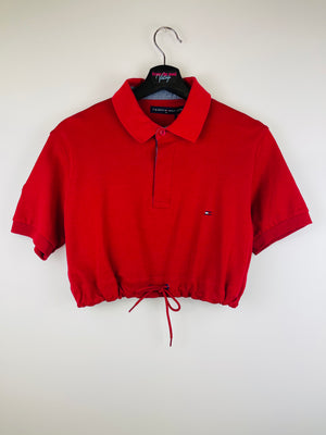 Tommy Hilfiger Crop Top Red + 2 Scrunchies