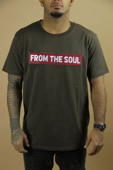 From The Soul T-Shirt Brown