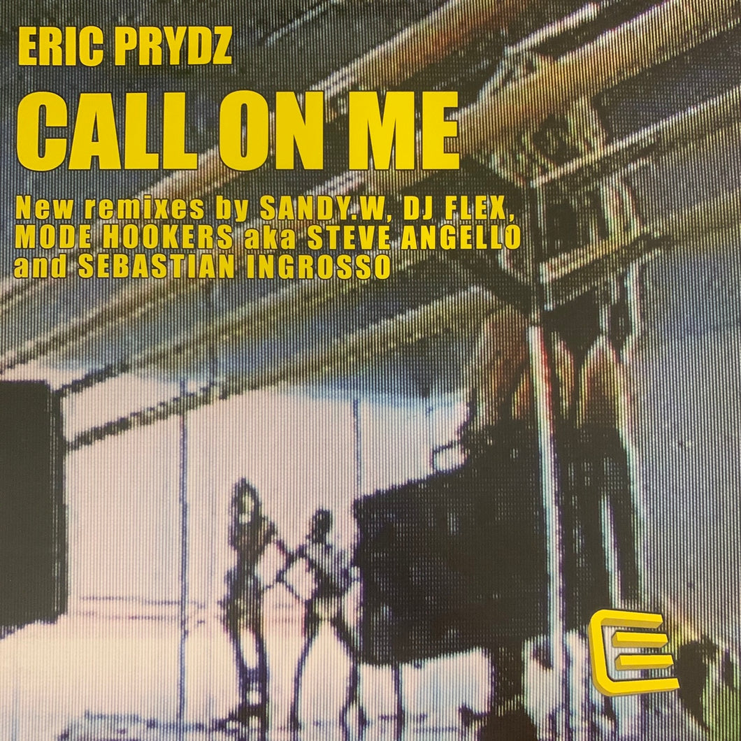 "Eric Prydz ""Call On Me"" 3 Version 12inch Vinyl"
