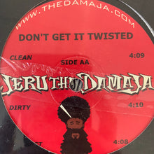 "Load image into Gallery viewer, Jeru The Damaja ""Rap Wars"" / ""Don't Get it Twisted"" 4 version 12inch Vinyl"