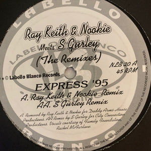 "Ray Keith & Nookie ""Express 95"" 2 Track 12inch Vinyl"
