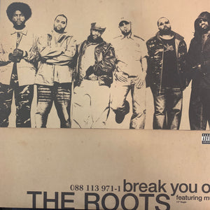 "The Roots ""Break You Off"" 2 Version 12inch Vinyl"