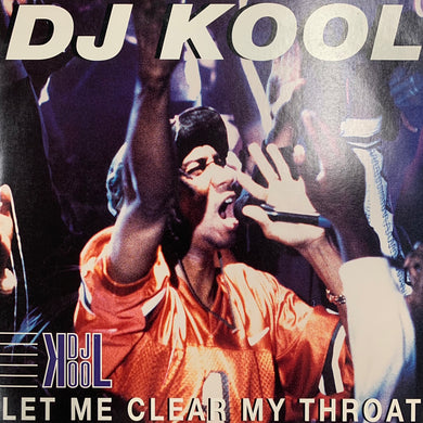 "DJ KOOL ""Let Me Clear My Throat"" 7 Track 12inch Vinyl"