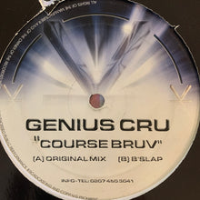 "Load image into Gallery viewer, Genius Cru ""Course Bruv"" 2 Track 12inch Vinyl"