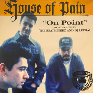 "House of Pain ""On Point"" 4 Version 12inch Vinyl"