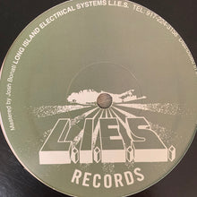 "Load image into Gallery viewer, NGLY ""Psychosis"" on Long Island Electrical System's L.I.E.S. Records 3 Track 12inch Vinyl"