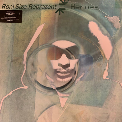 "Roni Size ""Hero's"" 3 Version 12inch Vinyl"