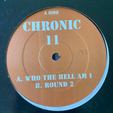 "Ray Keith 'Chronic 11' ""Who The Hell Am I"" / ""Round 2"" 2 Track 12inch Vinyl"